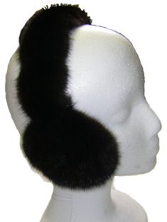 Mink Ear Muffs available in various colours